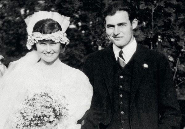 ernest hemingway and wife hadley