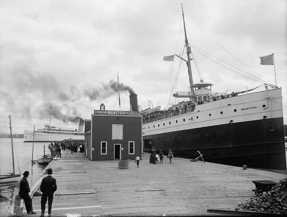 manitou steam ship