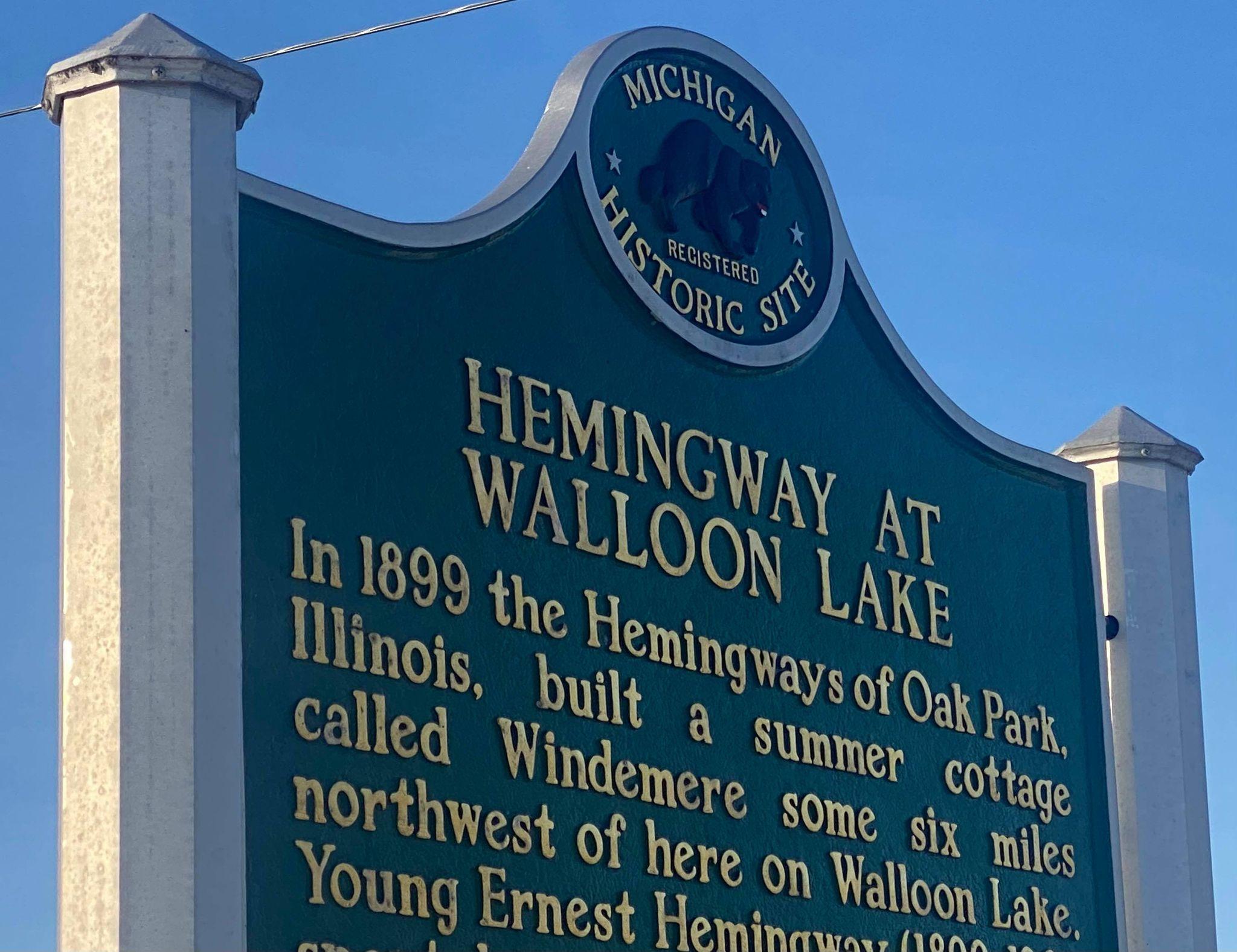 "Village of Walloon Lake Plans ""Hemingway Homecoming"" Activities Throughout 2021"