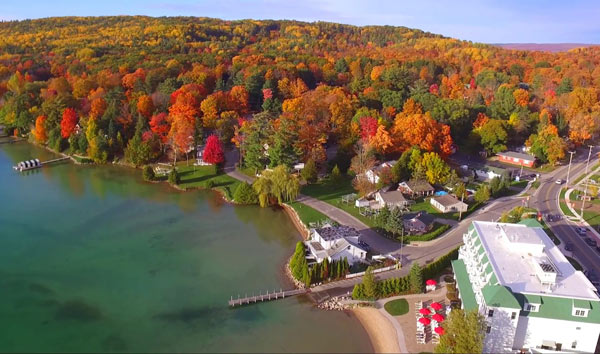 walloon lake in fall by adam j morris II