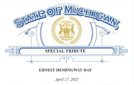 """You are currently viewing April 17 Named """"Ernest Hemingway Day"""" in Michigan"""