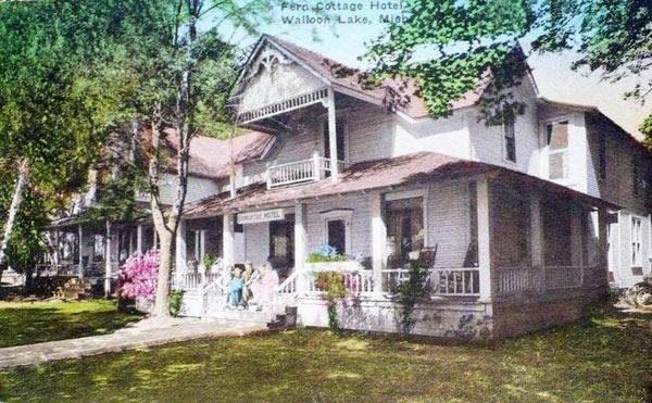 fern cottage hotel in walloon lake michigan
